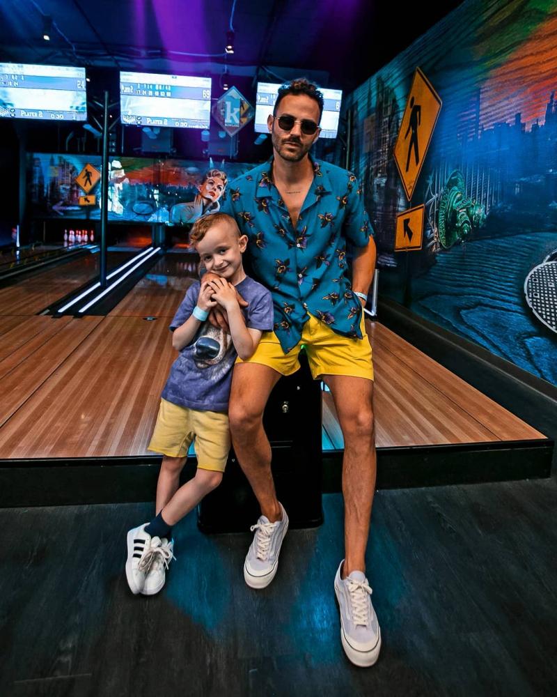 Cảm hứng phối đồ giúp cặp bố con sành điệu như fashionista