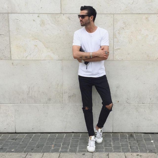 11 Cách phối đồ nam với quần Jean đẹp và mạnh mẽ