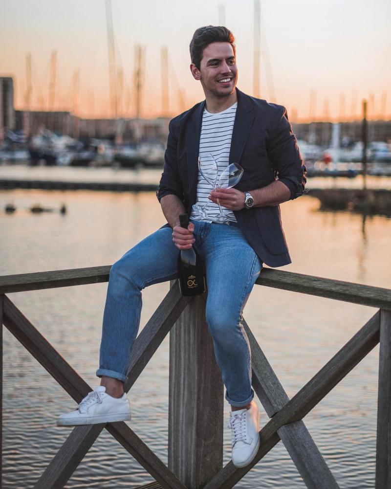 6 cảm hứng phối đồ với denim jacket giúp chàng thêm phong tính độc đáo