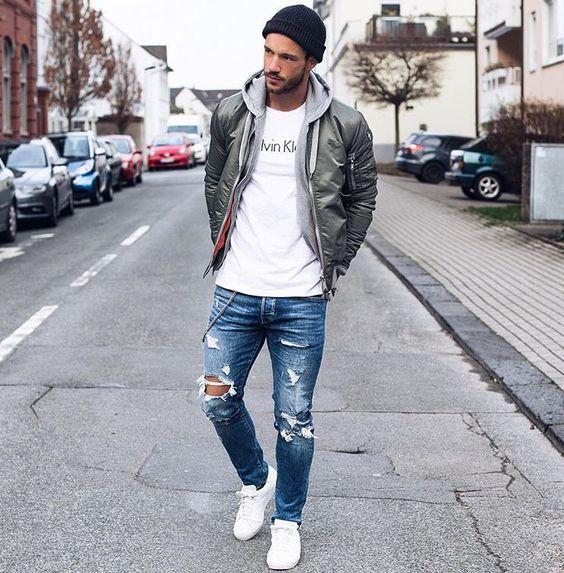 """6 cách mix&match; trang phục """"đậm chất đường phố"""" cùng áo khoác tự tin"""
