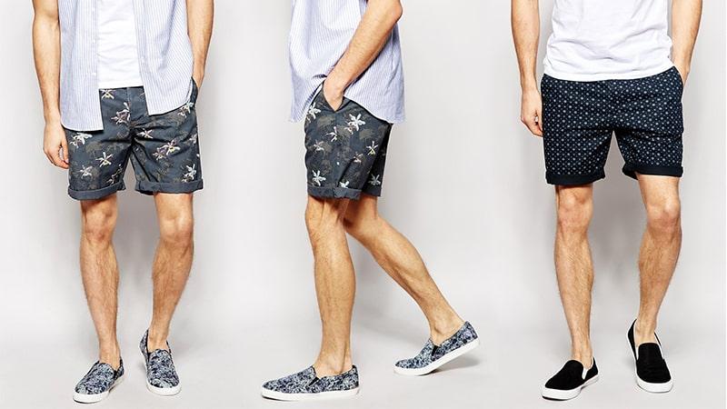 Những cách phối đồ với quần short nam thời trang