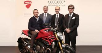 Ducati Monster 1200S chiếc xe thứ 1 triệu của hãng xe Ý đã có chủ