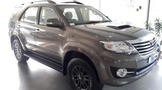 Phiên bản đắt tiền của Toyota Fortuner