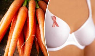 Ăn cà rốt ngăn ngừa ung thư vú