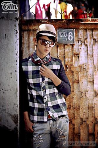 Mix sơ mi nam: Phong cách mới cho teen boy