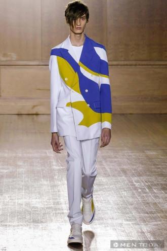 Nhìn lại BST thời trang nam xuân hè 2015 của Alexander McQueen