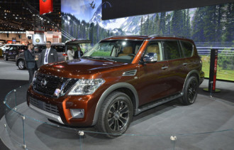 Nissan Armada 201 ra mắt với phiên bản nâng cấp hoàn toàn mới
