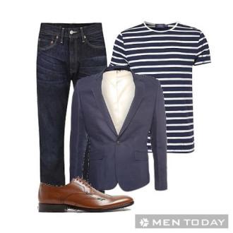 Trẻ trung và lịch lãm với blazer cho các chàng công sở