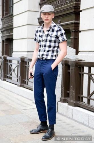 Cách mặc áo sơ mi nam đẹp từ Milan FW