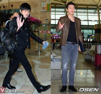 Ngắm thời trang sân bay của sao nam Hàn Quốc