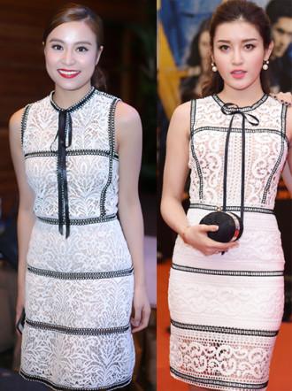 Chung Thanh Phong tố Á hậu Huyền My mặc 'váy nhái'