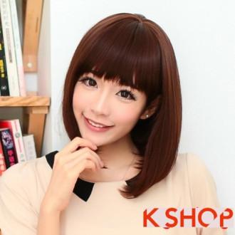 Xinh đẹp với kiểu tóc ngắn ép cụp của sao Hàn