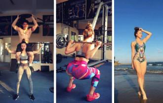 Gái một con có thân hình quyến rũ nhờ tập gym