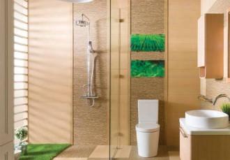 Hướng dẫn giúp phòng tắm nhỏ trở nên rộng rãi, sang trọng