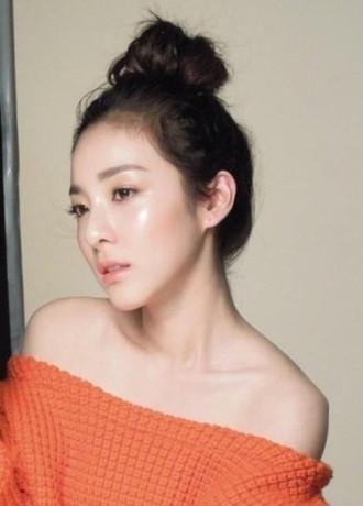Búi tóc đẹp như sao Hàn