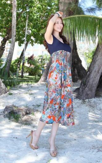 Váy đầm dài maxi cho nàng thướt tha duyên dáng ngày hè