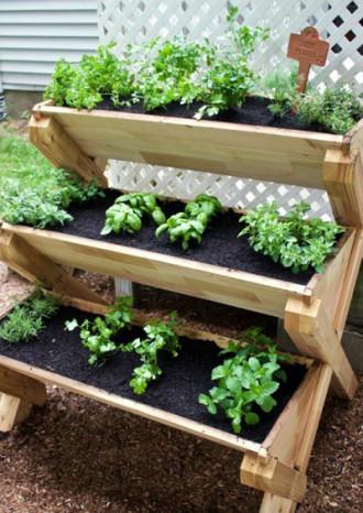 9 kiểu vườn rau bạn có thể di chuyển khắp nơi