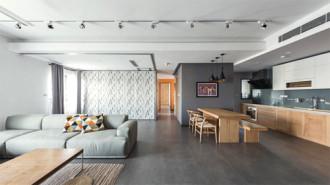 Căn hộ 120 m2 khác biệt thể hiện cá tính chủ nhà