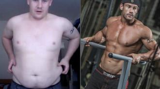 Chàng béo giảm 50 kg trở thành người mẫu tạp chí