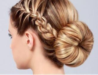 Hướng dẫn làm tóc búi đẹp dễ thương chống nóng hè