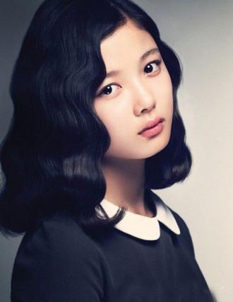 Tóc xoăn retro đẹp như sao Hàn