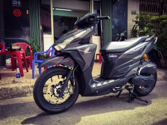 Hình ảnh Honda Vario đầy ấn tượng với bản độ của dân chơi Việt
