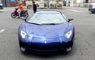 Hình ảnh siêu phẩm Lamborghini Aventador SV đầu tiên về Việt Nam