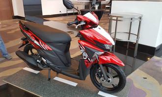 Yamaha Ego Avantiz với bộ tem và màu mới cực đẹp