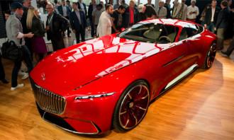 Hình ảnh Vision Mercedes-Maybach 6 concept – siêu phẩm tương lai