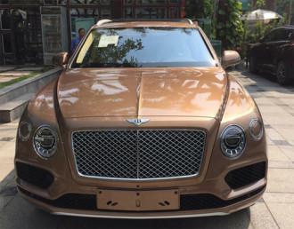 Bentley Bentayga nhập chính hãng về Ninh Bình