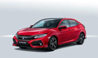 Honda trình làng Civic X hatchback 2017