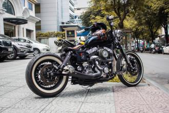 Harley-Davidson độ phong cách Halloween hầm hố tại Sài Thành
