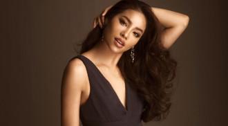 HHHV Phạm Hương quyến rũ diện váy cut-out táo bạo