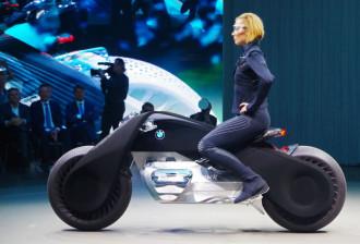 Hình ảnh siêu môtô người dơi ngoài đời thực từ BMW