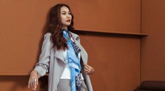 Ngắm 7 set đồ thu sành điệu, cá tính của siêu mẫu Thanh Hằng