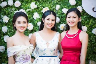 Ngắm dàn hoa hậu khoe vẻ đẹp khi dự sự kiện