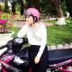Chiếc Exciter 135 độ Hồng cá tính của Nữ Biker Tây Ninh